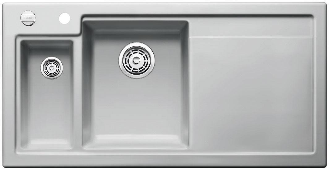 Blanco AXON II 6 S Keramika aluminium dřez vlevo s excentrem přísluš. ano