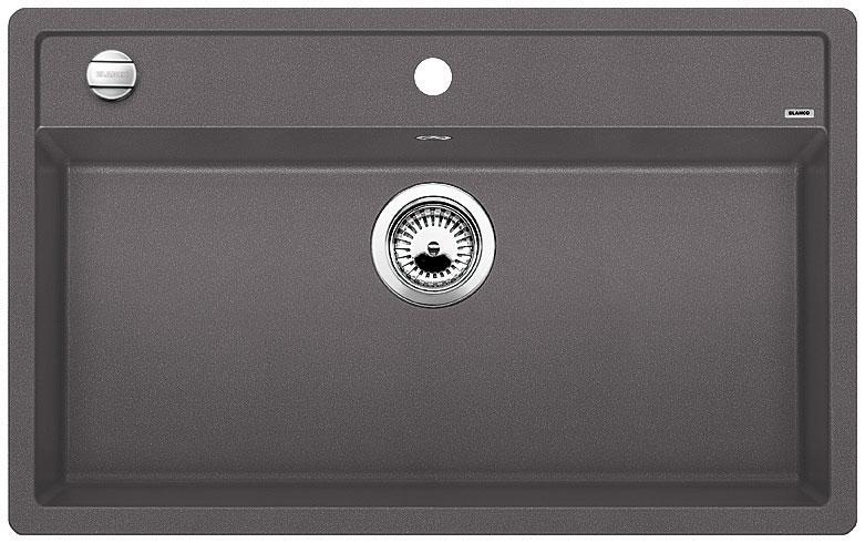 Blanco DALAGO 8 Silgranit šedá skála oboustranné provedení s excentrem