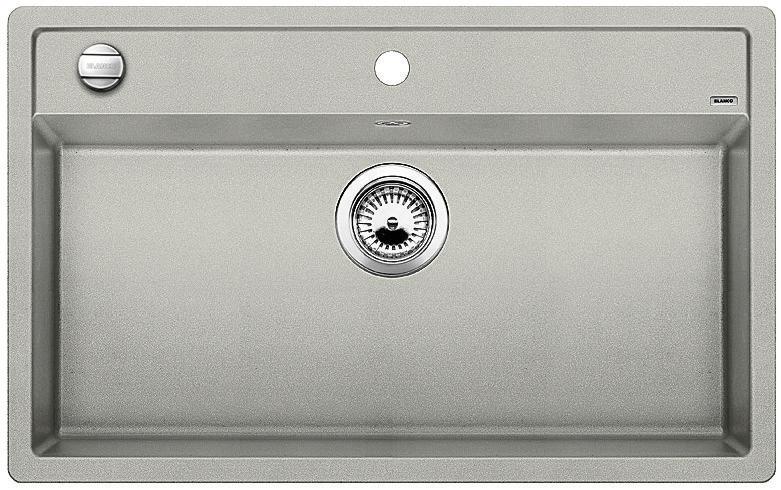 Blanco DALAGO 8 Silgranit perlově šedá oboustranné provedení s excentrem