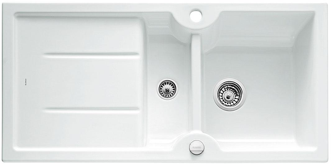 Blanco IDESSA 6 S Keramika bílá oboustranné provedení s excentrem