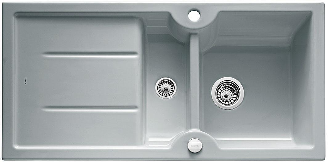 Blanco IDESSA 6 S Keramika aluminium oboustranné provedení s excentrem