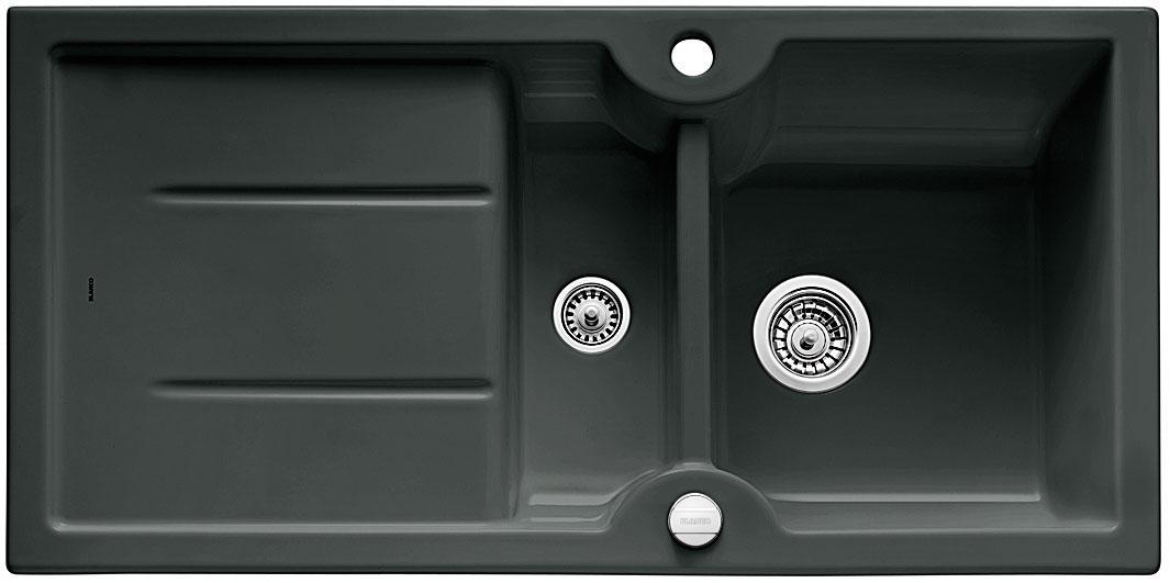 Blanco IDESSA 6 S Keramika černá oboustranné provedení s excentrem