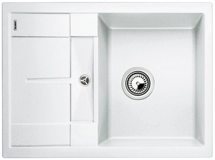 Blanco METRA 45 S Compact Silgranit bílá oboustranné provedení