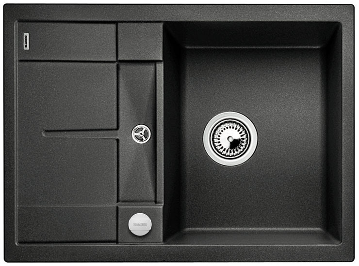 Blanco METRA 45 S Compact Silgranit antracit oboustranné provedení s excentrem