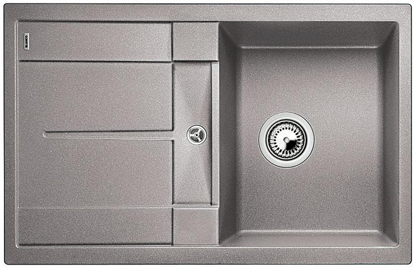 Blanco METRA 45 S Silgranit aluminium oboustranné provedení bez excentru