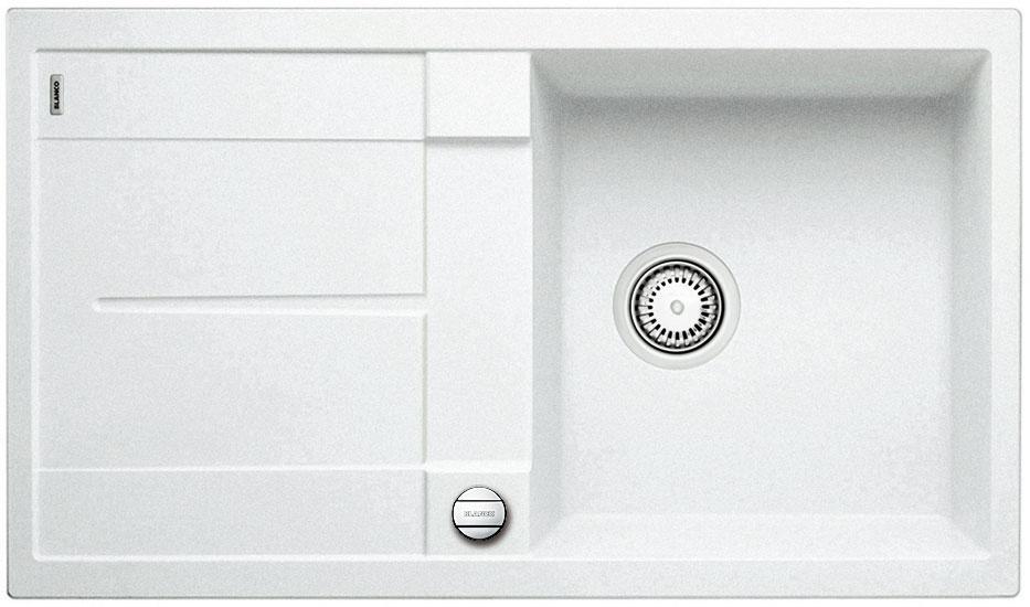 Blanco METRA 5 S Silgranit bílá oboustranné provedení s excentrem