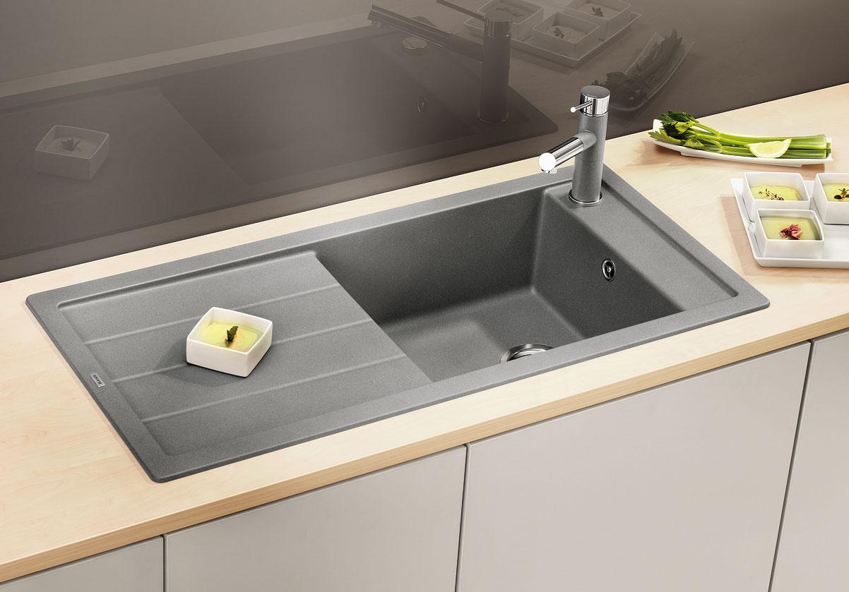 Blanco MEVIT XL 6 S Silgranit aluminium oboustranné provedení