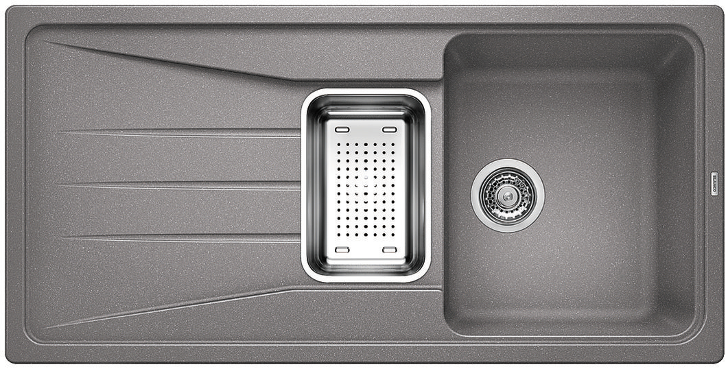 Blanco SONA 6 S Silgranit aluminium oboustranné provedení,  příslušenství ano
