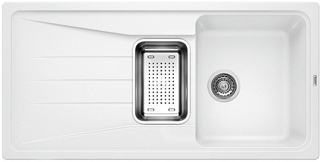 Blanco SONA 6 S Silgranit bílá oboustranné provedení,  příslušenství ano