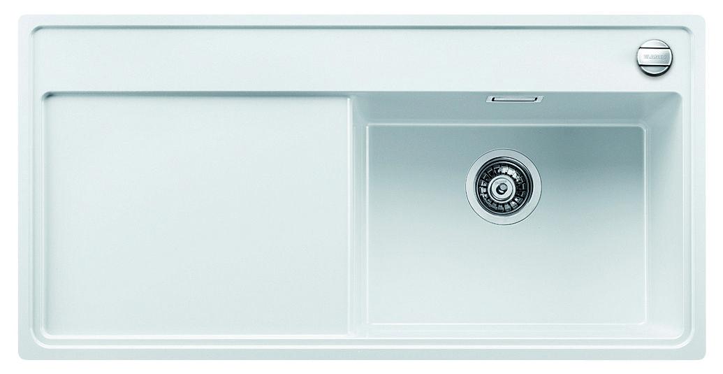 Blanco ZENAR XL 6 S-F Silgranit bílá dřez vpravo s excentrem