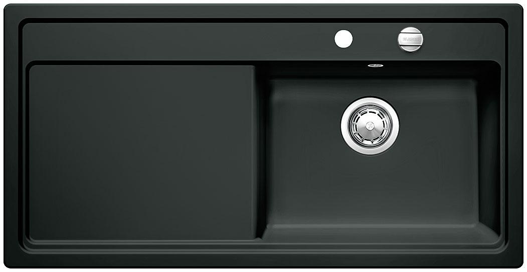 Blanco ZENAR XL 6 S Keramika černá dřez vpravo s excentrem