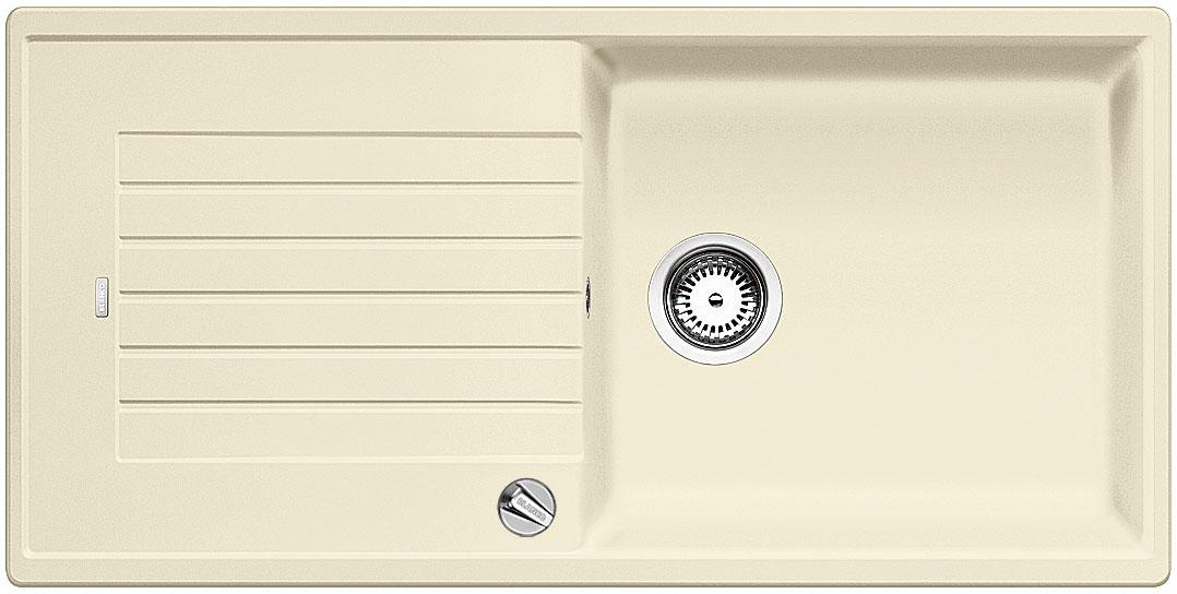 Blanco ZIA XL 6 S Silgranit jasmín oboustranné provedení s excentrem
