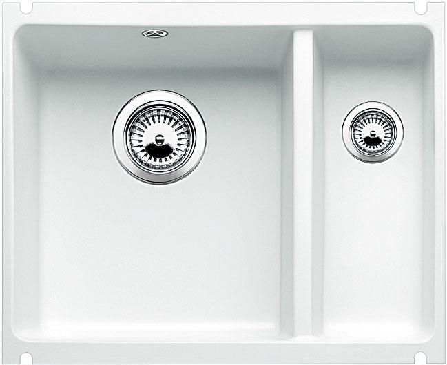 Blanco SUBLINE 350/150 U Keramika zářivě bílá bez táhla dřez vlevo