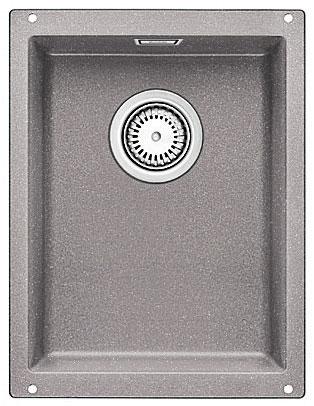 Blanco SUBLINE 320-U Silgranit aluminium  s táhlem