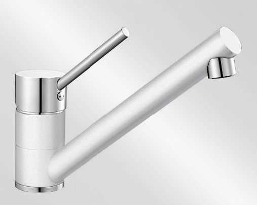 Blanco ANTAS HD Silgranit-look dvoubarevná bílá/chrom
