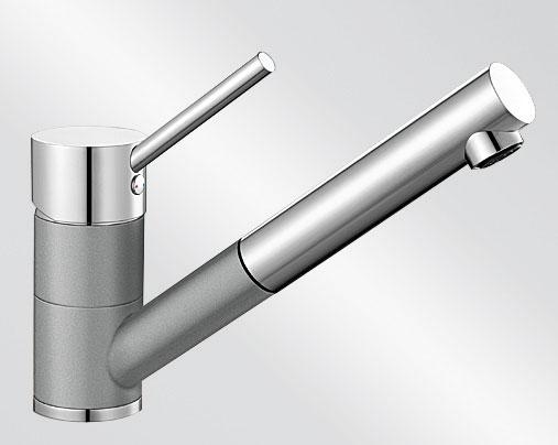 Blanco ANTAS-S Keramika-look dvoubarevná aluminium/chrom
