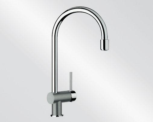 Blanco FILO-S Silgranit-look dvoubarevná aluminium/chrom