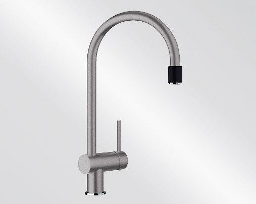 Blanco FILO-S Silgranit-look aluminium