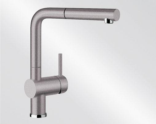 Blanco LINUS-S Silgranit-look aluminium