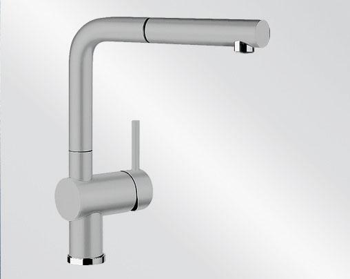 Blanco LINUS-S Keramika-look aluminium