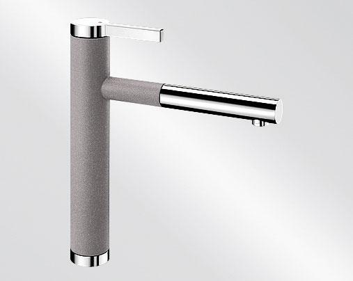 Blanco LINEE S Silgranit-look dvoubarevná aluminium/chrom