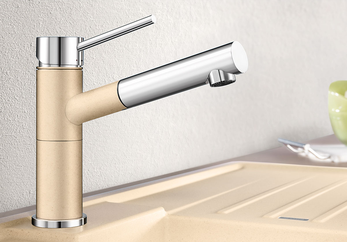 Blanco ALTA-S Compact Silgranit-look dvoubarevná antracit/chrom