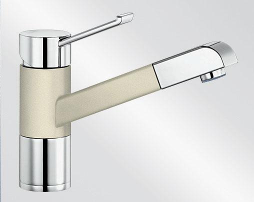 Blanco ZENOS-S Silgranit-look dvoubarevná jasmín/chrom