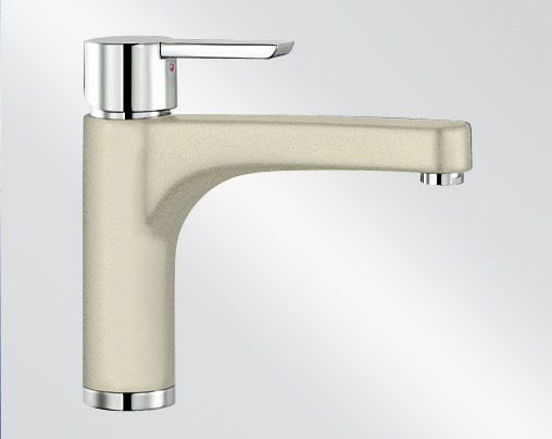 Blanco PYLOS Silgranit-look dvoubarevná jasmín/chrom