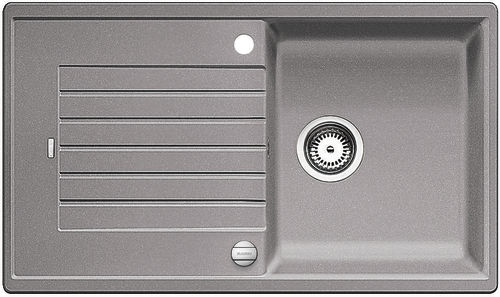 Blanco ZIA 5 S Silgranit aluminium oboustranné provedení s excentrem