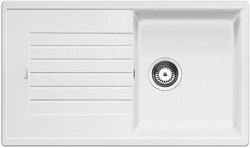 Blanco ZIA 5 S Silgranit bílá oboustranné provedení  bez excentru
