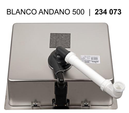 Blanco ANDANO 500 IF InFino Nerez hedvábný lesk bez táhla