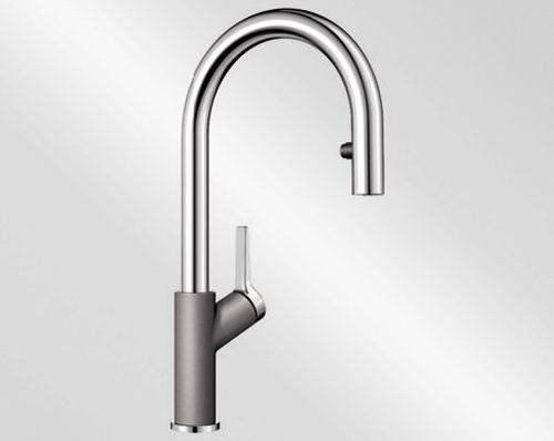Blanco CARENA-S Vario aluminium/chrom