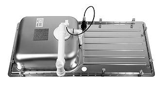 Blanco LANTOS XL 6 S-IF  nerez kartáčovaný oboustranné provedení s excentrem