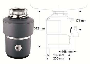 Drtič M 100 evolution - ISE s pneu spínačem/chrom (záruka 5 roků)