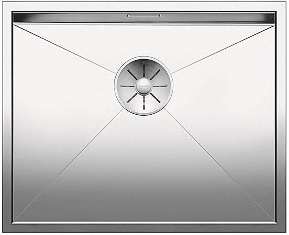 Blanco ZEROX 500 U InFino Nerez hedvábný lesk bez táhla C-Overflow