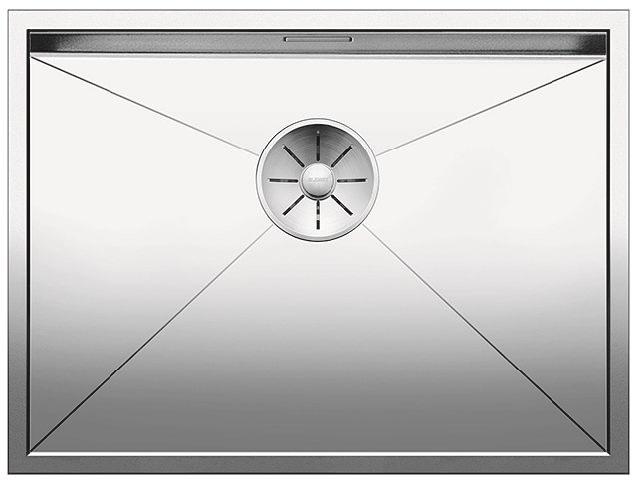 Blanco ZEROX 550 U InFino Nerez hedvábný lesk bez táhla C-Overflow