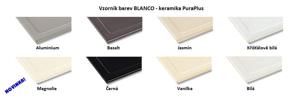 Blanco IDESSA 5 S Keramika zářivě bílá dřez vpravo