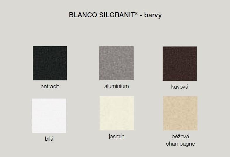 Blanco TAMOS 45 S Silgranit jasmín