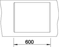 Blanco DALAGO 6 F Silgranit antracit s excentrem
