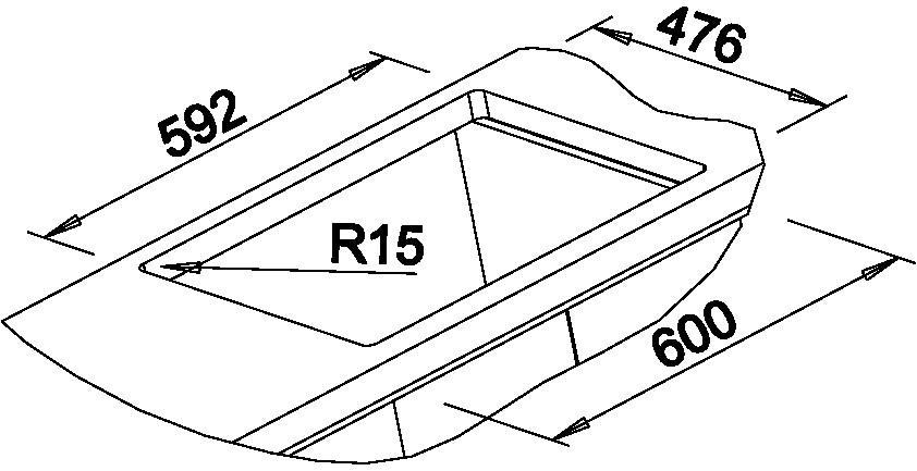 Blanco NOVA 6 Silgranit tartufo oboustranné provedení