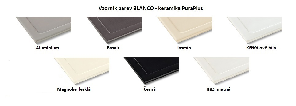 Blanco LINUS-S Keramika-look černá