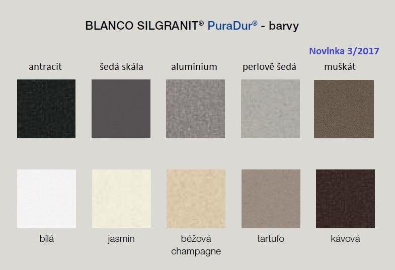 Blanco VITIS Silgranit-look šedá skála