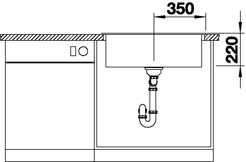 Blanco PLEON 8 Silgranit kávová oboustranné provedení