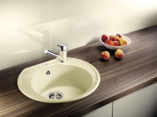 Blanco ANTAS-S ND Silgranit-look dvoubarevná tartufo/chrom beztlaková
