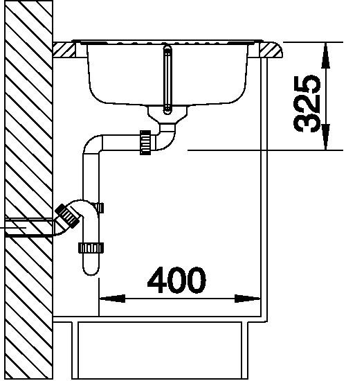Blanco TIPO 45 S Compact Nerez profilovaný oboustranné provedení