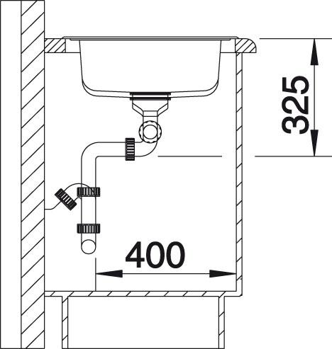 Blanco TIPO XL 9 Nerez kartáčovaný oboustranné provedení