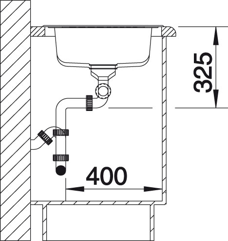 Blanco TIPO XL 9 S Nerez kartáčovaný oboustranné provedení