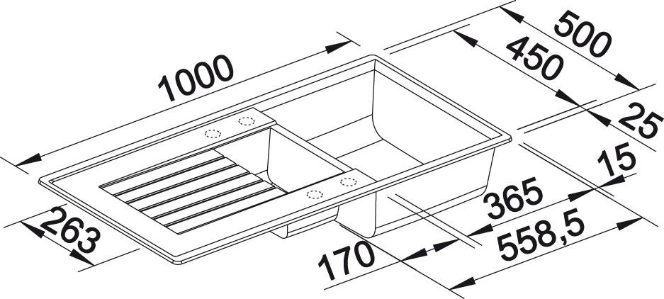 Blanco ZIA 6 S Silgranit aluminium oboustranné provedení