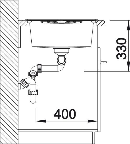 Blanco ZIA 8 S Silgranit aluminium oboustranné provedení